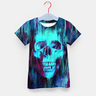 Thumbnail image of Calavera Painted Kid's t-shirt, Live Heroes