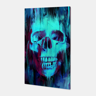 Miniatur Calavera Painted Canvas, Live Heroes