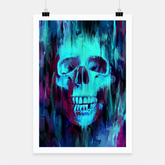 Thumbnail image of Calavera Painted Poster, Live Heroes