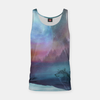 Thumbnail image of Howling at the moon Tank Top, Live Heroes
