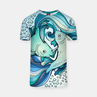 Thumbnail image of Pisces T-shirt, Live Heroes