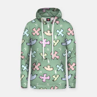 Thumbnail image of Singing Bird Cotton hoodie, Live Heroes