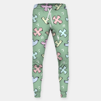 Thumbnail image of Singing Bird Cotton sweatpants, Live Heroes