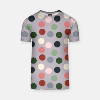 Thumbnail image of Tropical polka dots T-shirt, Live Heroes