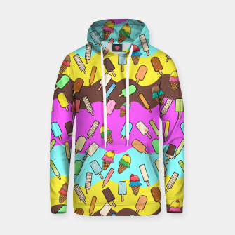 Thumbnail image of Ice Cream Treats Cotton hoodie, Live Heroes