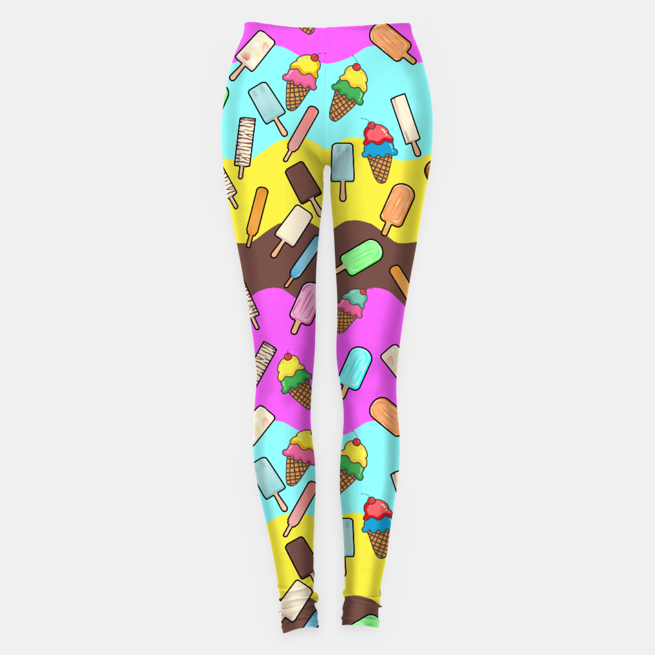 Image of Ice Cream Treats Leggings - Live Heroes