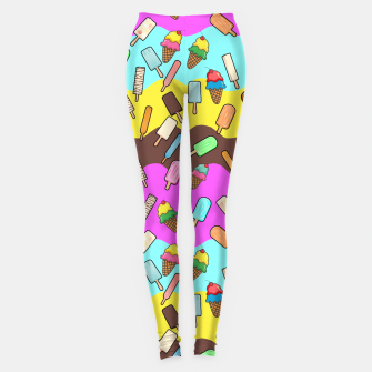 Ice Cream Treats Leggings obraz miniatury