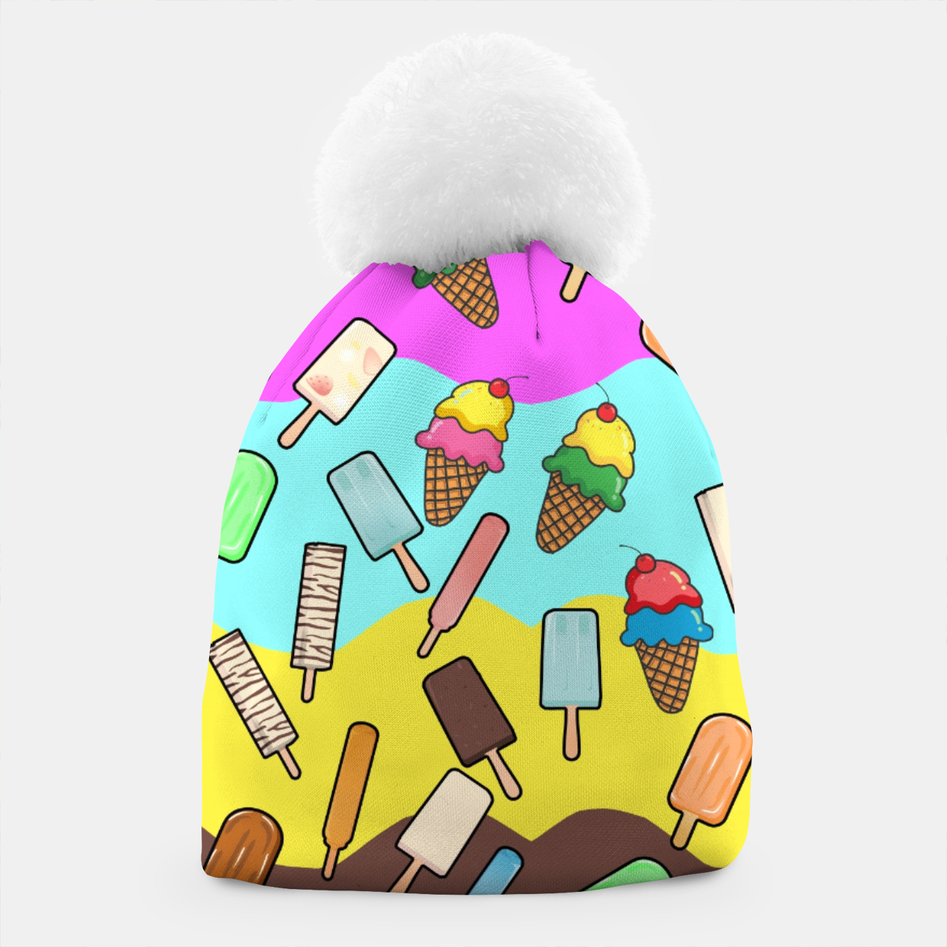 Image of Ice Cream Treats Beanie - Live Heroes