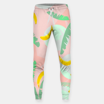 Miniatur Rumba Banana Cotton sweatpants, Live Heroes