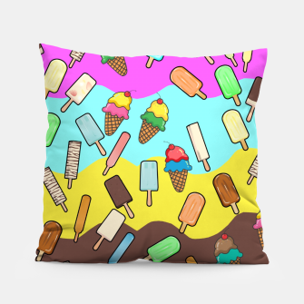 Thumbnail image of Ice Cream Treats Pillow, Live Heroes