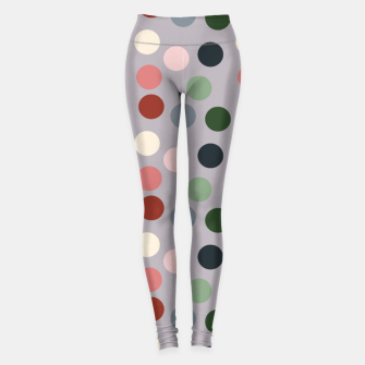 Miniaturka Tropical polka dots Leggings, Live Heroes