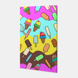 Ice Cream Treats Canvas obraz miniatury