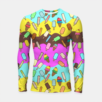 Thumbnail image of Ice Cream Treats Longsleeve rashguard , Live Heroes