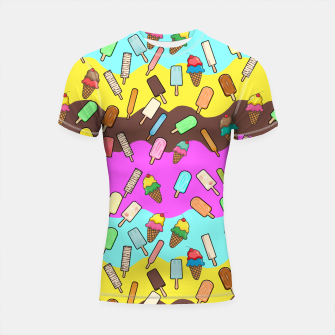 Thumbnail image of Ice Cream Treats Shortsleeve rashguard, Live Heroes