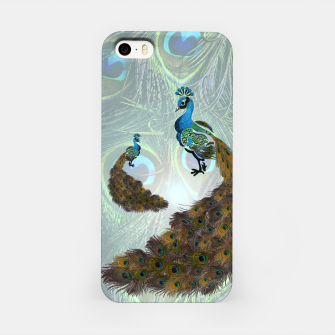 Thumbnail image of Peacock feathers bird iPhone Case, Live Heroes