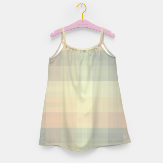 Imagen en miniatura de Chequered Candy Pastels Pattern Girl's dress, Live Heroes