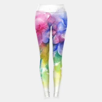 Miniaturka Tropical Floral Anarchy Leggings, Live Heroes