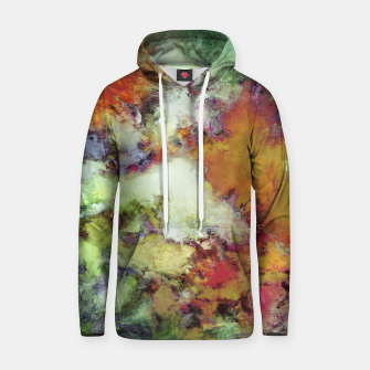 Thumbnail image of An approaching storm Cotton hoodie, Live Heroes