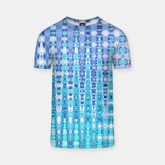 Miniatur Blue Glass T-shirt, Live Heroes