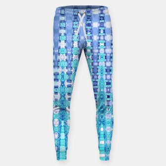 Miniatur Blue Glass Cotton sweatpants, Live Heroes