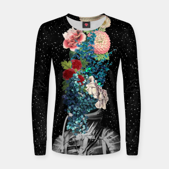 Flower Boom Woman cotton sweater obraz miniatury