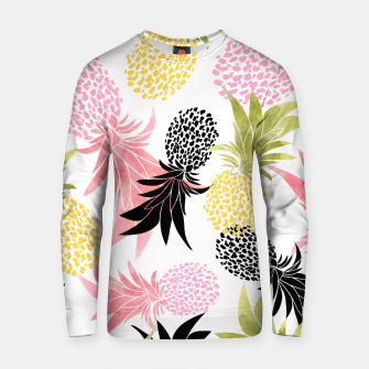 Thumbnail image of Pineapples Cotton sweater, Live Heroes