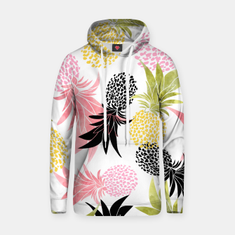 Thumbnail image of Pineapples Cotton hoodie, Live Heroes