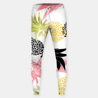 Thumbnail image of Pineapples Cotton sweatpants, Live Heroes