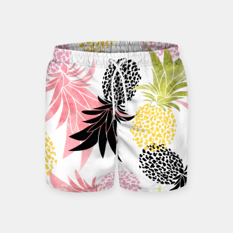 Miniatur Pineapples Swim Shorts, Live Heroes