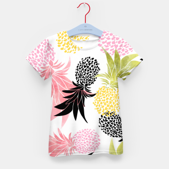 Thumbnail image of Pineapples Kid's t-shirt, Live Heroes