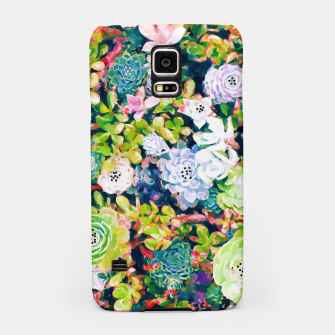 Thumbnail image of Watercolor Succulents Samsung Case, Live Heroes