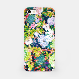 Thumbnail image of Watercolor Succulents iPhone Case, Live Heroes