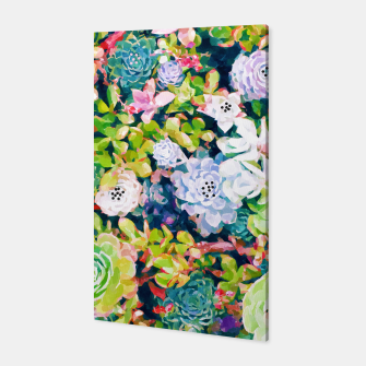 Thumbnail image of Watercolor Succulents Canvas, Live Heroes