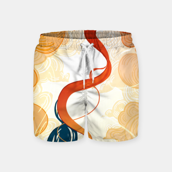 Thumbnail image of Unraveling Destiny Swim Shorts, Live Heroes