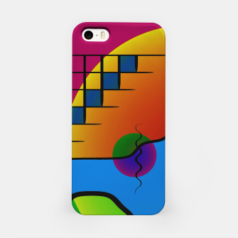 Thumbnail image of Modern art iPhone Case, Live Heroes