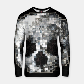 Thumbnail image of Pixel Skull Illustration Jumper Sweatshirt, Live Heroes