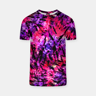 Thumbnail image of Pink and Purple Batik Tie Dye  T-shirt, Live Heroes
