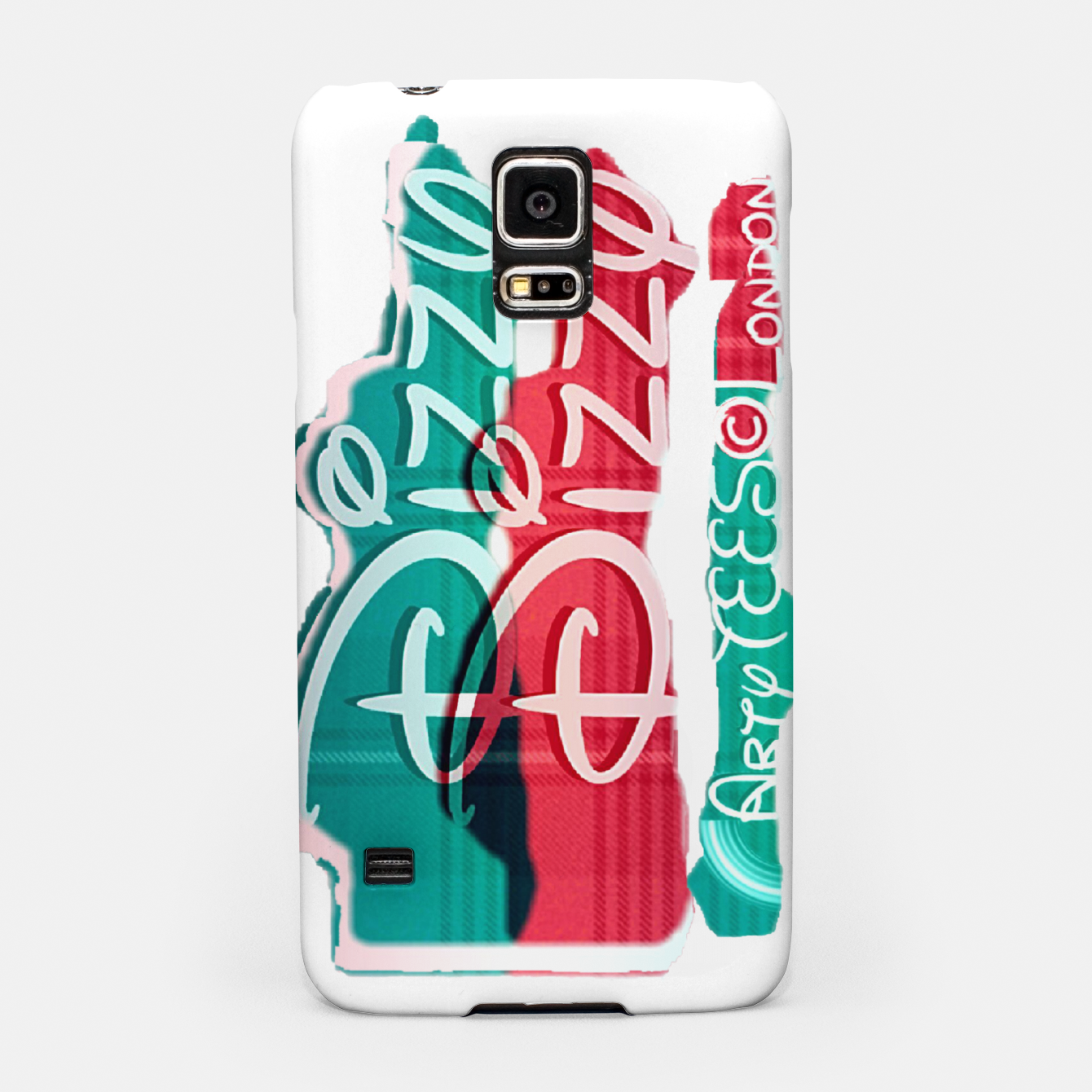 Image of Dizzy Red Green Filter Samsung Case - Live Heroes