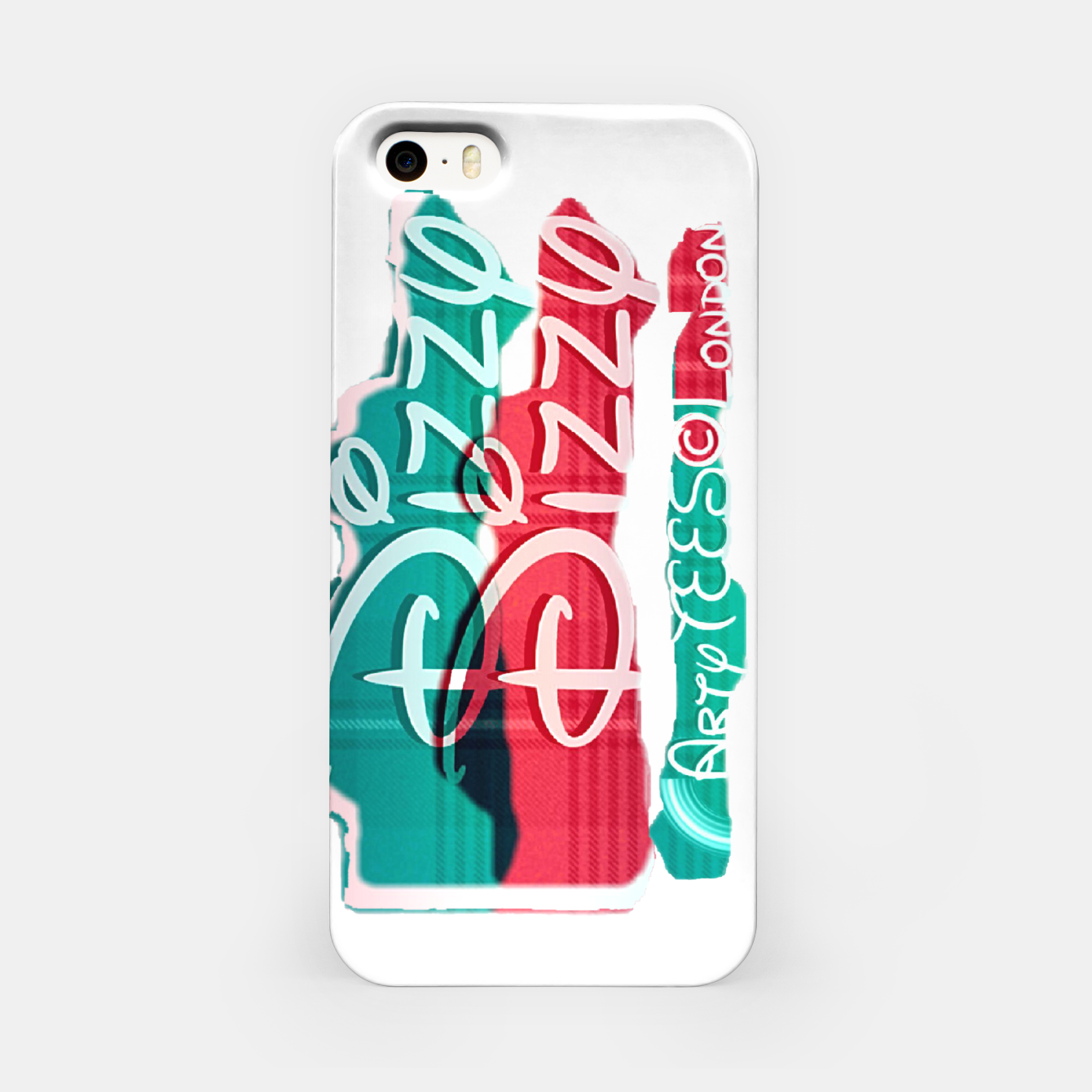 Image of Dizzy Red Green Filter iPhone Case - Live Heroes