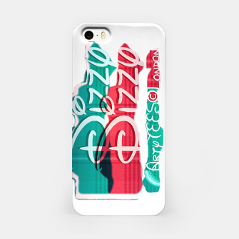 Dizzy Red Green Filter iPhone Case thumbnail image