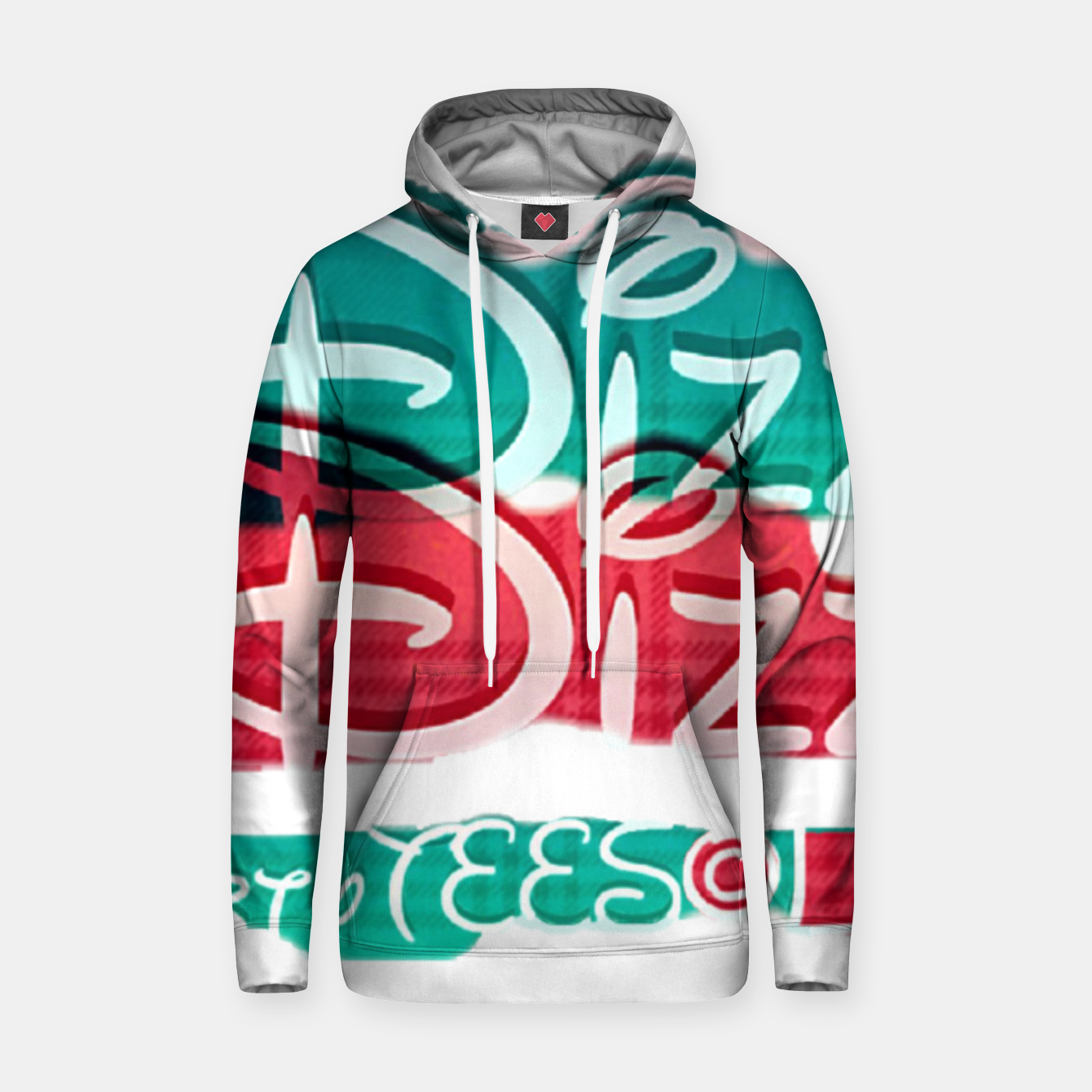 Image of Dizzy Red Green Filter Cotton hoodie - Live Heroes