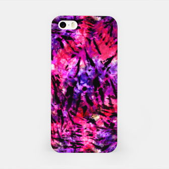 Thumbnail image of Pink and Purple Batik Tie Dye  iPhone Case, Live Heroes