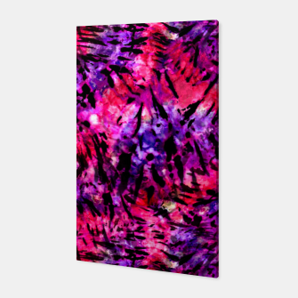 Thumbnail image of Pink and Purple Batik Tie Dye  Canvas, Live Heroes
