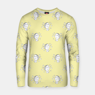 Thumbnail image of Cute Cartoon Drawing Pattern Cotton sweater, Live Heroes
