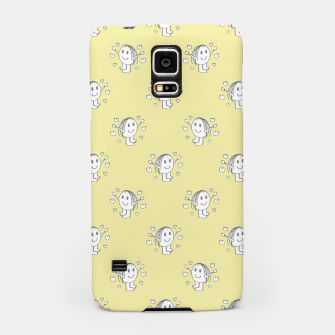 Thumbnail image of Cute Cartoon Drawing Pattern Samsung Case, Live Heroes