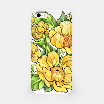 Miniature de image de Yellow Flowers iPhone Case, Live Heroes