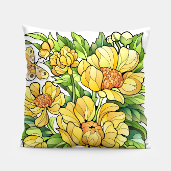Miniature de image de Yellow Flowers Pillow, Live Heroes