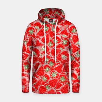 Strawberry Summer Cotton hoodie thumbnail image