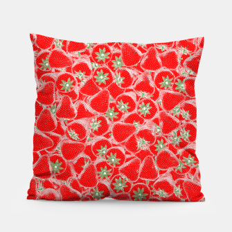 Strawberry Summer Pillow thumbnail image