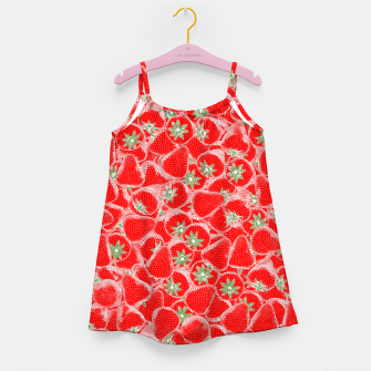 Strawberry Summer Girl's dress thumbnail image